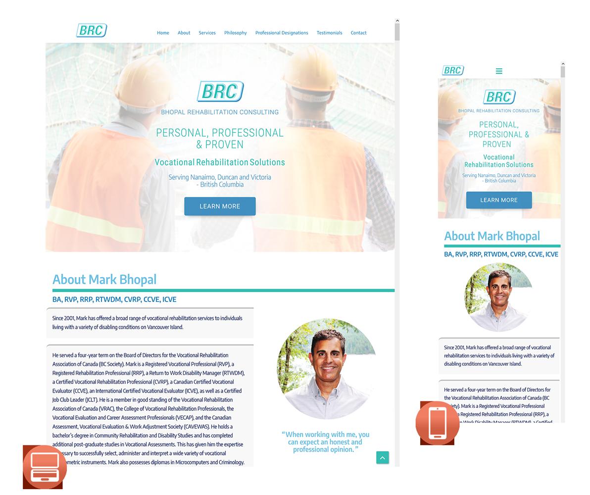 WordPress for Vocational Rehabilitation Company